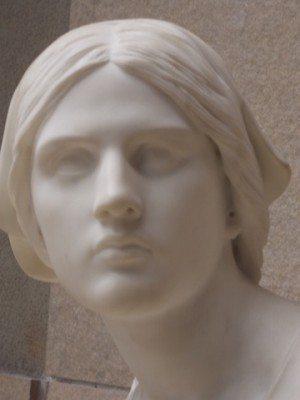 Jeanne dArc A Domrem by Henri Chapu 1870
